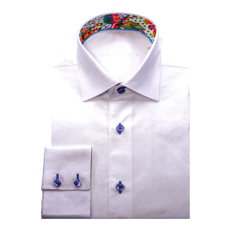 Mori Button-Up Shirt // White