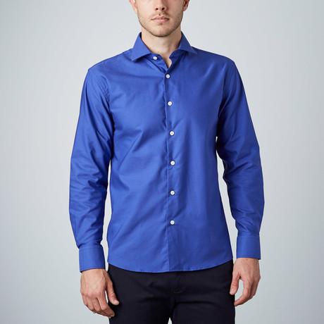 Classic Dress Shirt // Royal Blue
