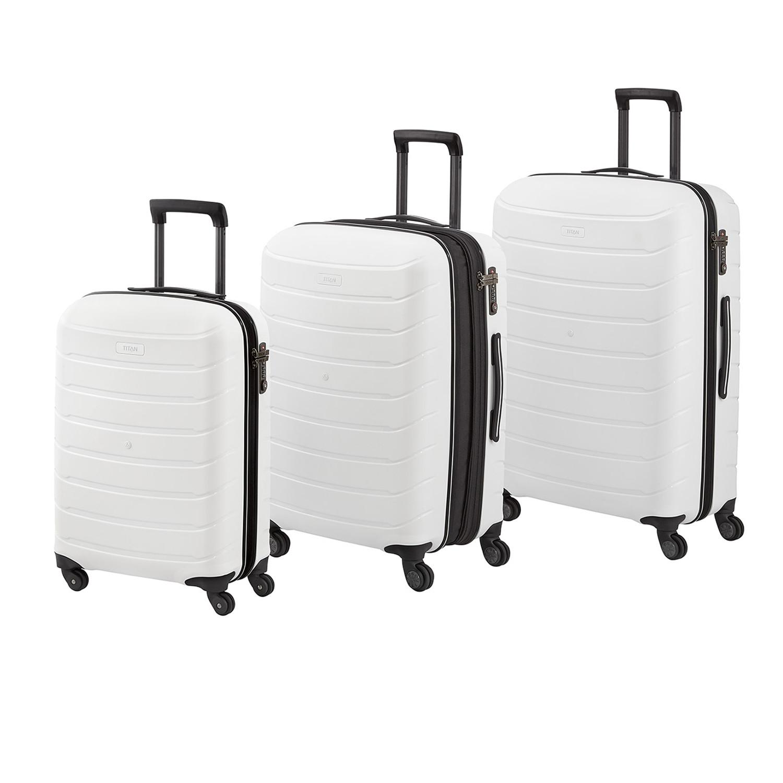 474453c891f7 Titan Limit Hard Luggage Set // White - TITAN - Touch of Modern