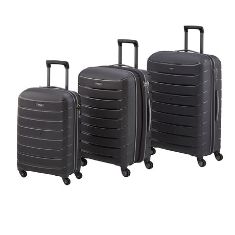 Titan Limit Hard Luggage Set // Black