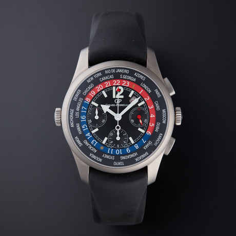 Girard Perregaux World Time Chronograph Automatic // 49805 // Store Display