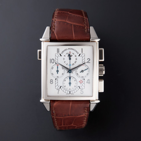 Girard Perregaux Vintage 1945 King Size GMT Chronograph Automatic // 25975 // Store Display