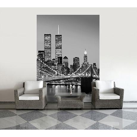Manhattan Skyline at Night I