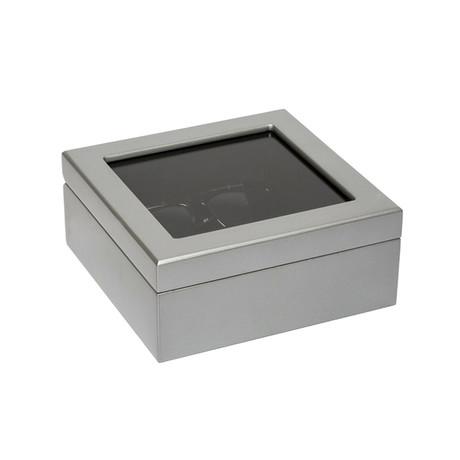 Eyewear Accessory Box // Metallic Silver // 8