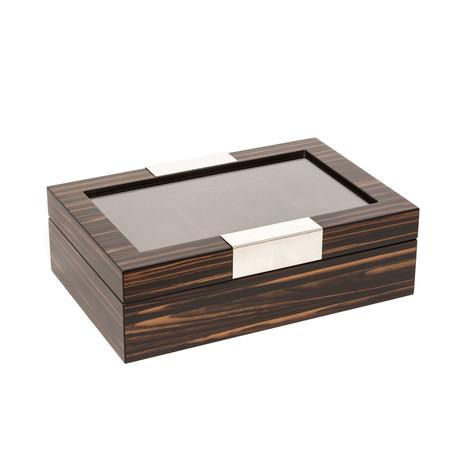 10-Slot Watch Box (Brown)