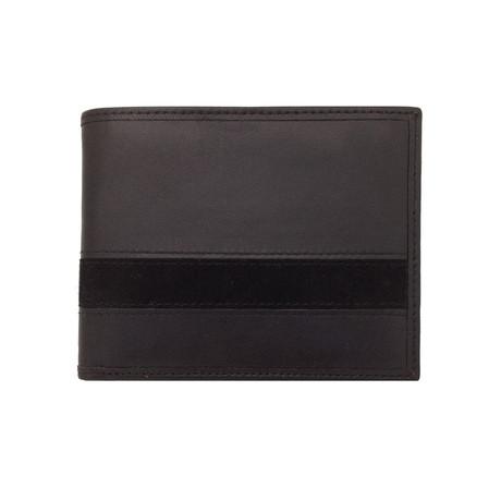 Executive Bi-Fold Wallet (Black)