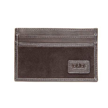 Slim Credit Card Wallet (Black)