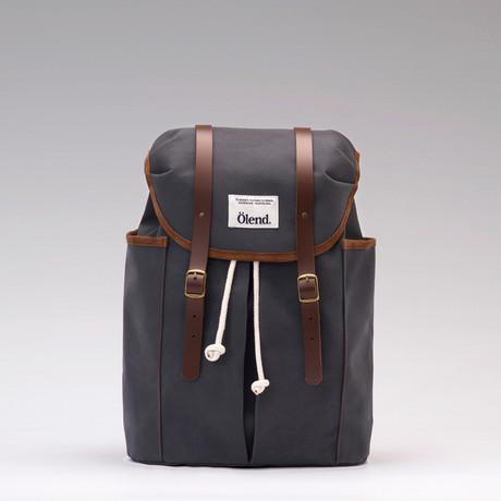 Sienna Backpack // Grey