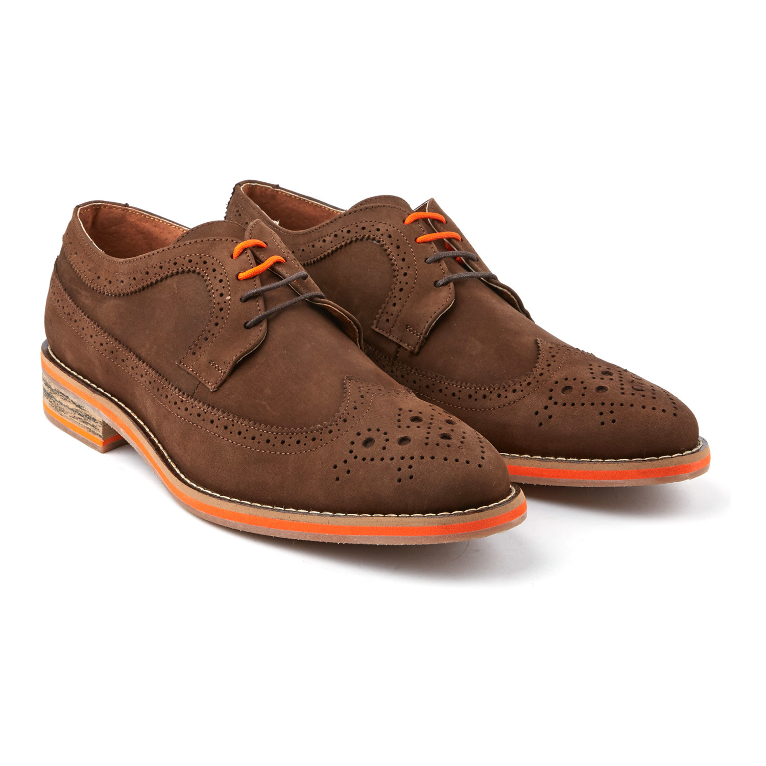 wingtip dress shoe camel us 7 s andre touch