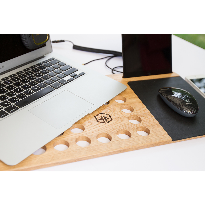 Lap Desk Black Left Handed