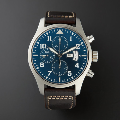IWC Pilot Le Petit Prince Chronograph Automatic // IW377706 // Pre-Owned