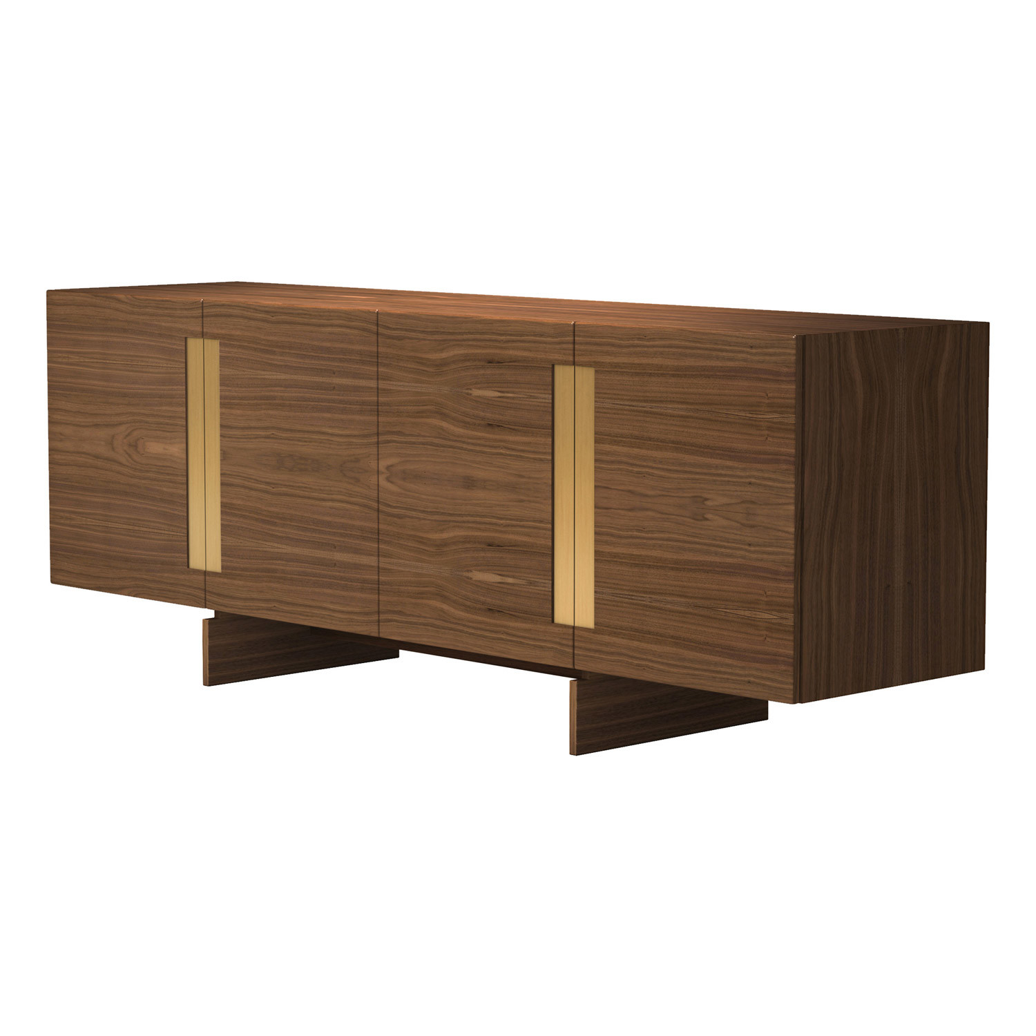 Brixton sideboard natural oak modloft touch of modern for Sideboard natur