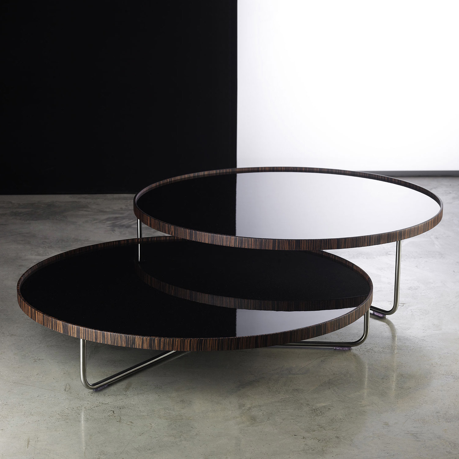 Enjoyable Adelphi Nesting Coffee Tables Black Modloft Touch Of Caraccident5 Cool Chair Designs And Ideas Caraccident5Info