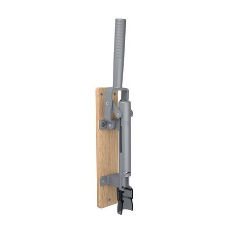Modern Wall Mounted Corkscrew + Wood Backing