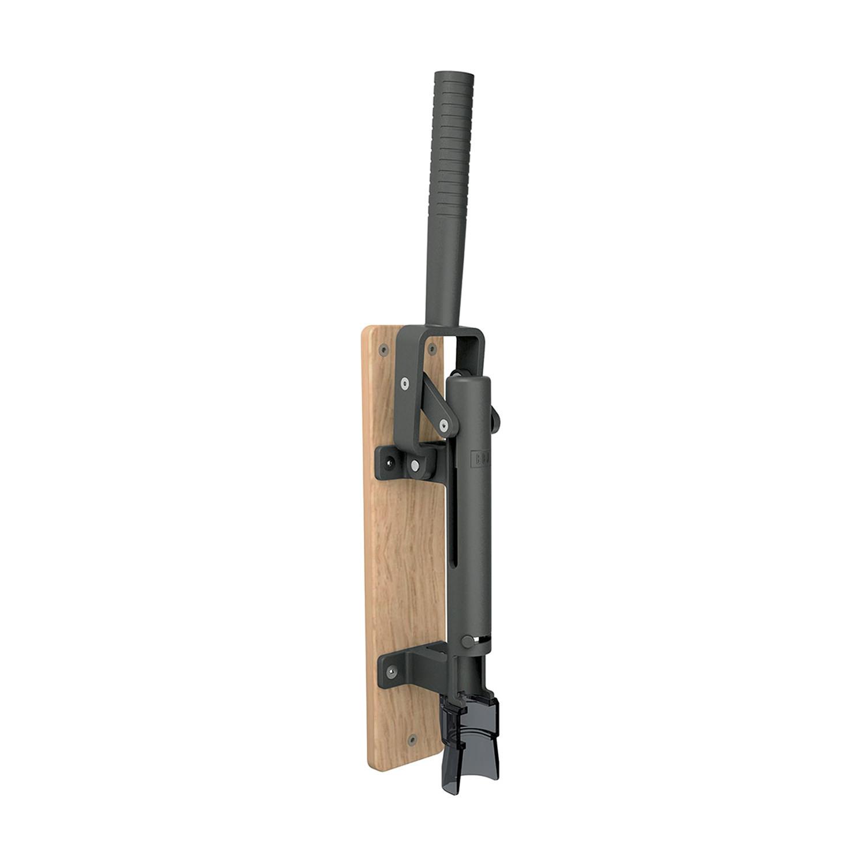 Modern Wall Mounted Corkscrew Wood Backing Natural Oak Wood Boj Touch Of Modern