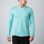 Venture Fitness Tech Long-Sleeve T-Shirt // Green (S)