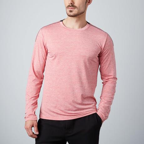 Venture Fitness Tech Long-Sleeve T-Shirt // Red