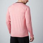 Venture Fitness Tech Long-Sleeve T-Shirt // Red (S)