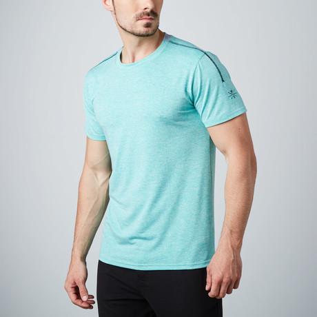 Alpha Fitness Tech T-Shirt  // Green