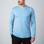 Power Fitness Tech Long-Sleeve T-Shirt // Blue (S)