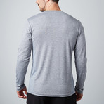 Power Fitness Tech Long-Sleeve T-Shirt // Gray (S)