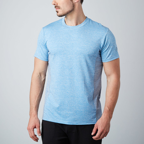 Torque Fitness Tech T-Shirt // Blue