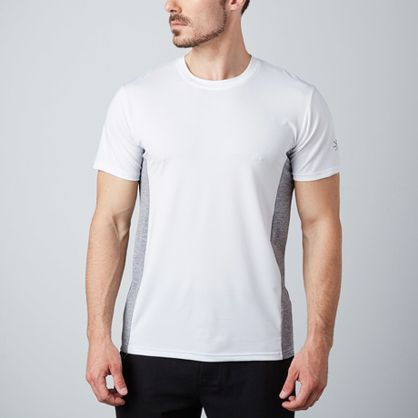 Torque Fitness Tech T-Shirt // White