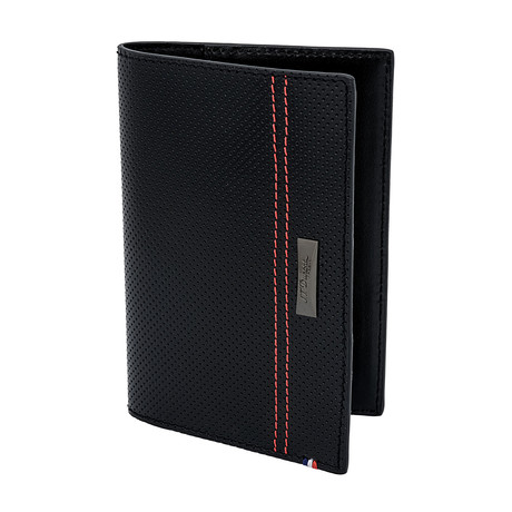 S.T. Dupont McLaren Defi Perforated Leather Passport Holder