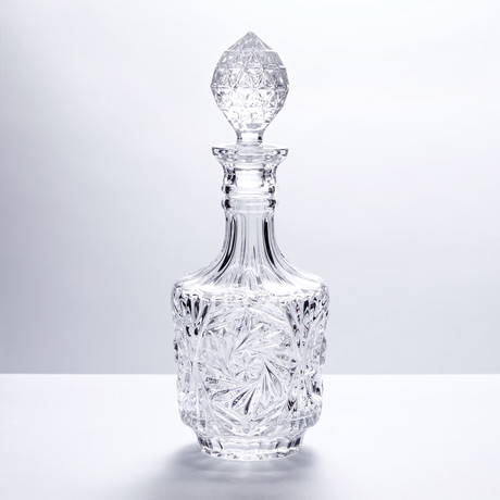 Monte Cristo Crystal Decanter