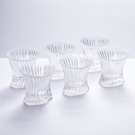 Bissaren Crystal Whiskey Tumblers // Set of 6