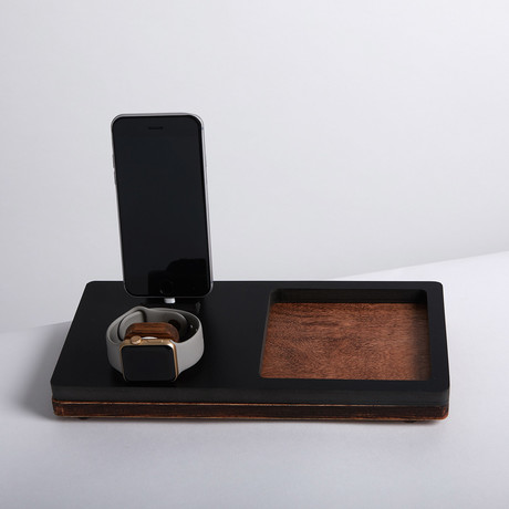 TRAY Double Dock // Black