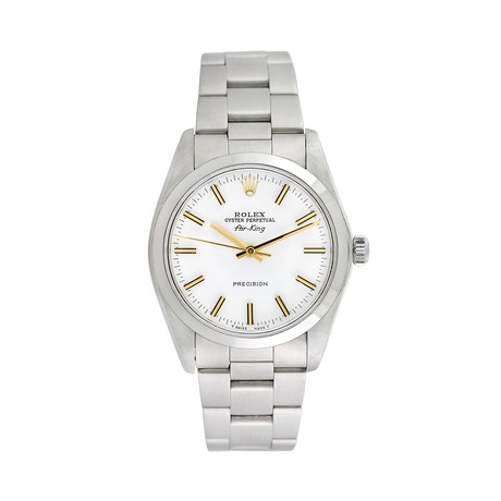 Rolex Airking Automatic // 5500 // 760-ARM7114567 // Pre-Owned