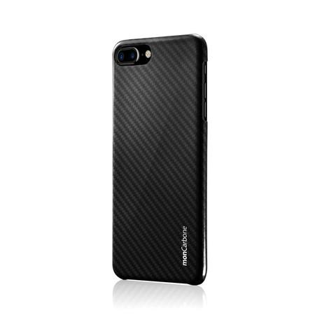 HoverKoat Midnight Black Ballistic Fiber // iPhone 8 Plus