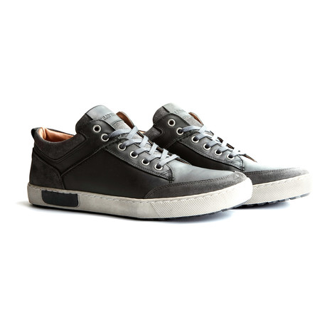 Aberdeen Low Shoe // Dark Grey + Black (EUR: 40)