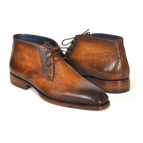 Chukka Boot // Brown + Camel (Euro: 37)