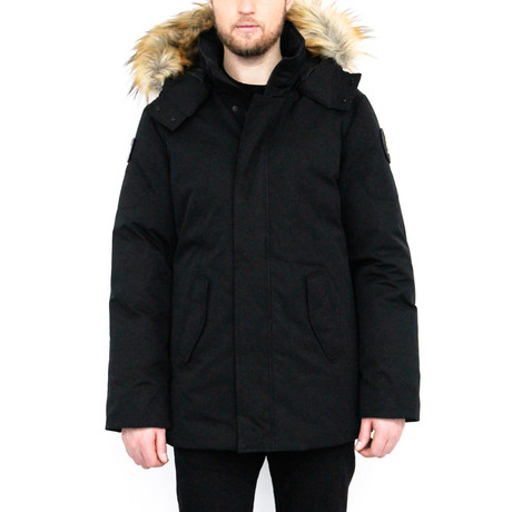 Nicky Mid-Length Jacket // Black (2XL)