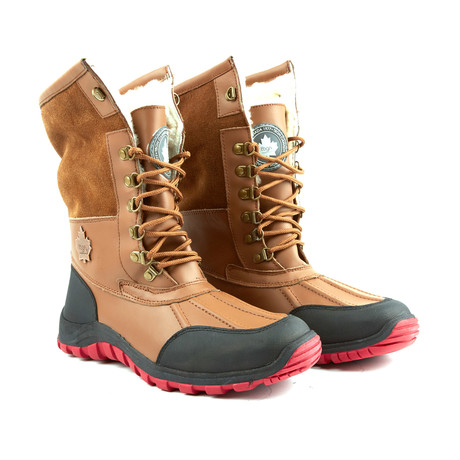 Rocco Shearling Boot // Caramel