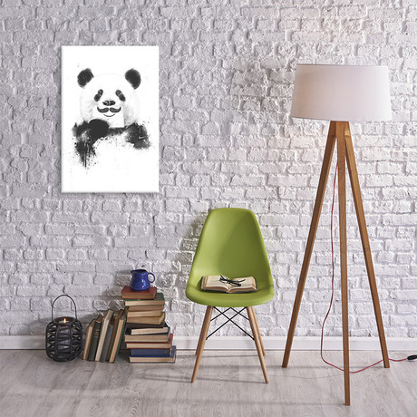 "Funny Panda (18""W x 26""H x 0.75""D)"