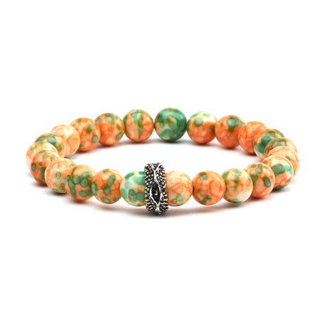 Jazzy Tones Bracelet // Orange