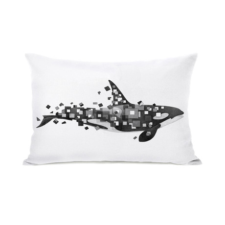 Fractured Killer Whale // Pillow