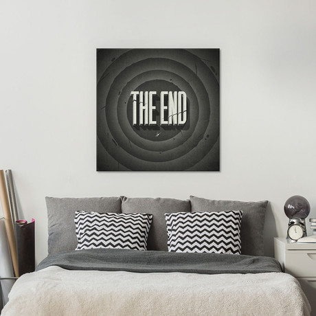 "The End (18""W x 18""H x 0.75""D)"