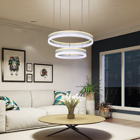 Europa // Tunable White Color-Changing // Chandelier