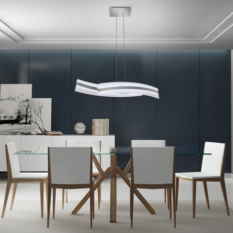 Metis // Tunable White Color-Changing // Linear Chandelier