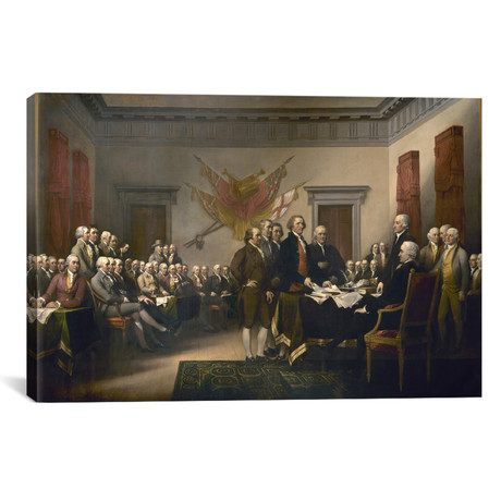The Declaration of Independence // John Trumbull // 1817