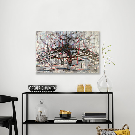 "Tree // Piet Mondrian // 1911 (26""W x 18""H x 0.75""D)"