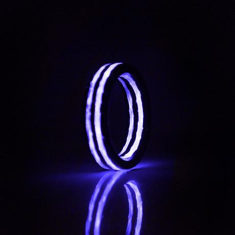 Purple Saturn Ring