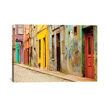 """Beyoglu Alley, Istanbul, Turkey // Mark Paulda (40""""W x 26""""H x 1.5""""D)"""