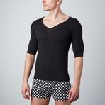 Padded Muscle Shirt // Black (XS)