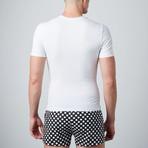 Cotton Compression Shirt // White (S)