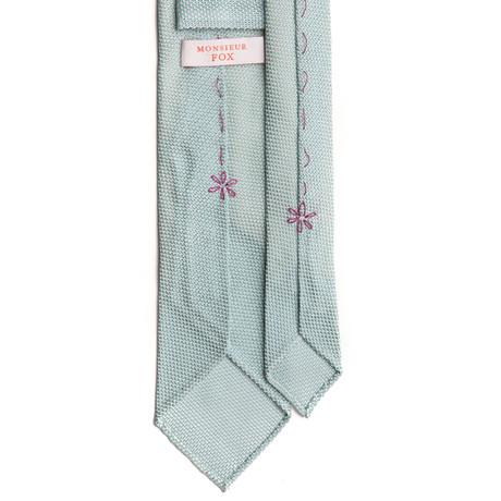 Grenadine Tie // Mint Green